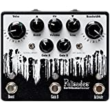 EarthQuaker Devices Palisades V2 Overdrive, Limited Edition Inverted Black/White