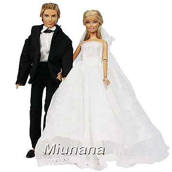 Miunana Formales Anzug Kleid Kleidung Abschlussball Hochzeits mit ...