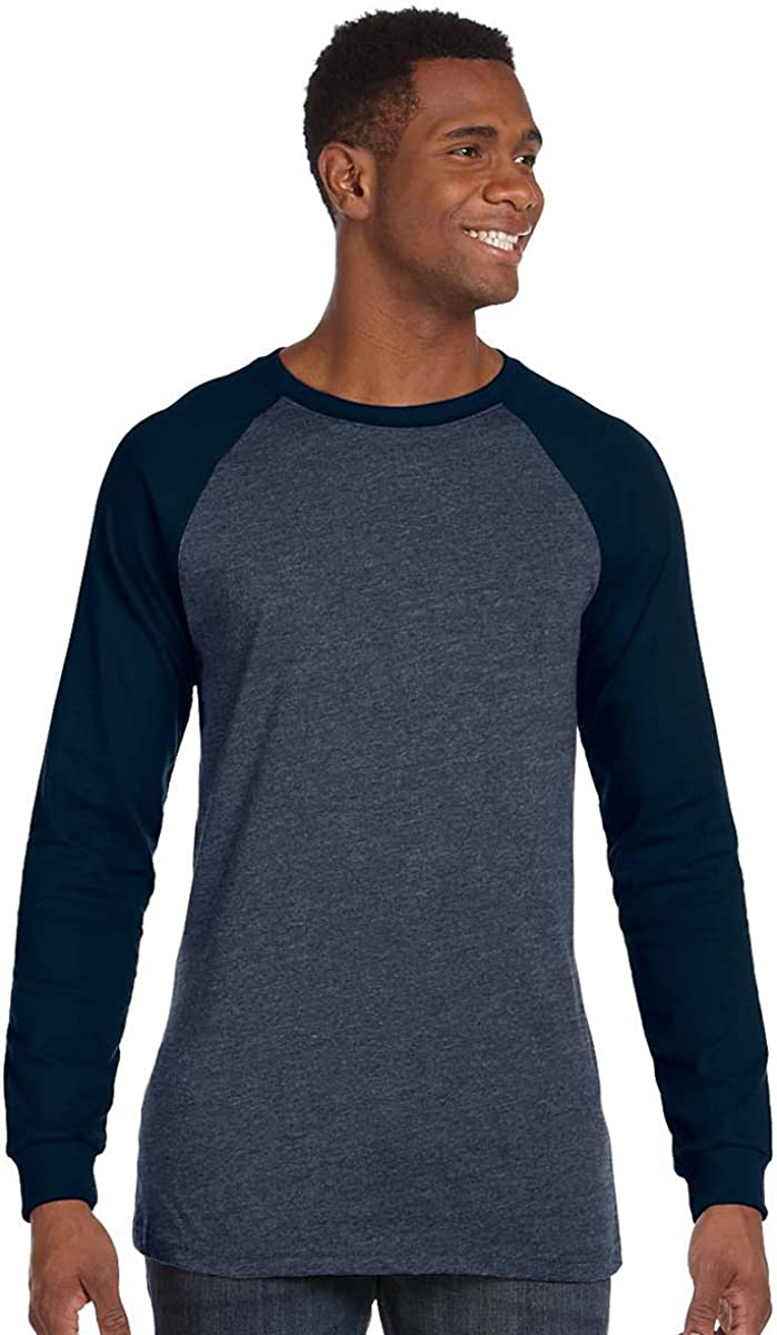 Bella + Canvas Men's Long-Sleeve Baseball T-Shirt