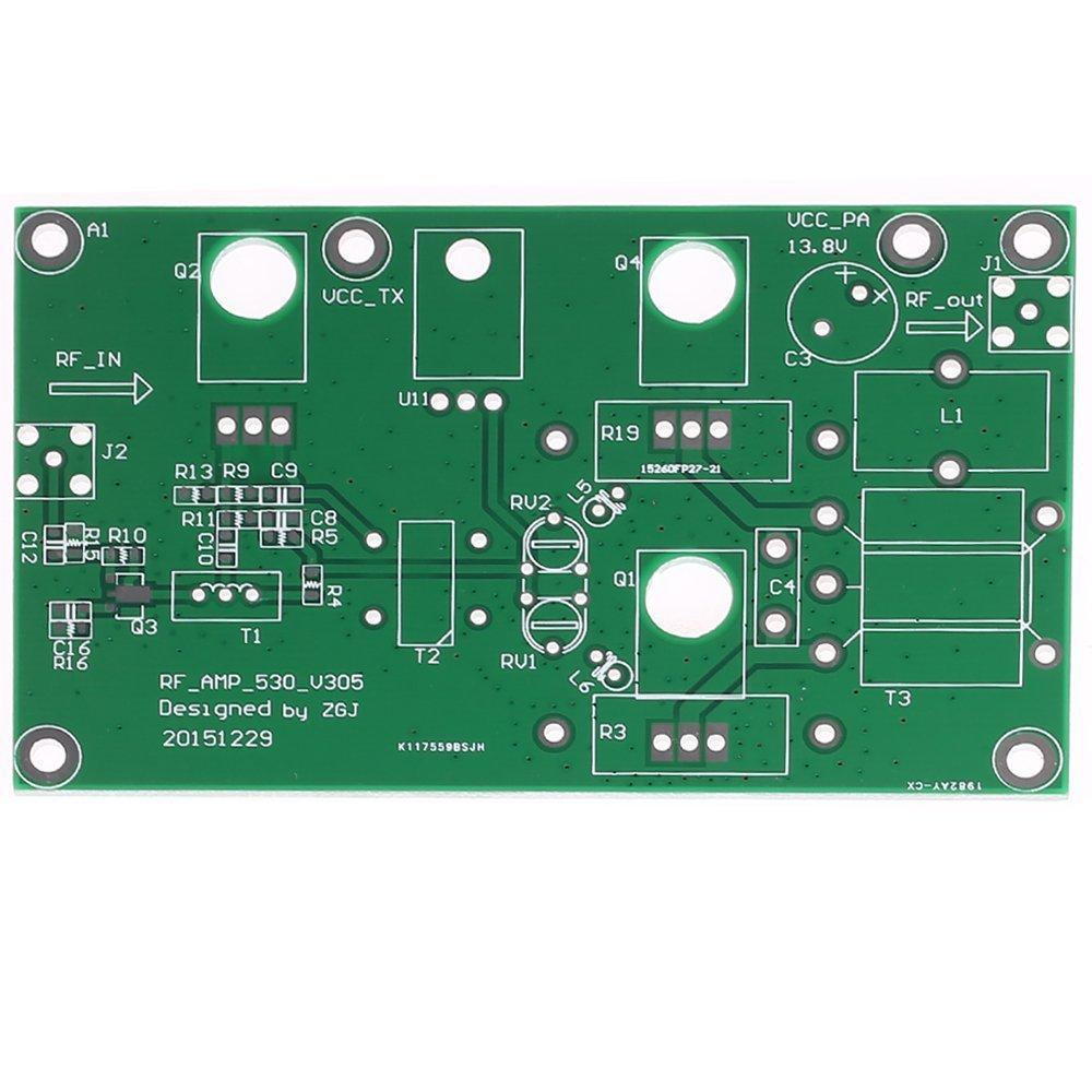 KKmoon 45W SSB AM Módulo de Fuente de Alimentación Lineales Amplificateur CW FM Amplificador de Potencia Radio HF Transmisor Onda Corta DIY Kit Señal: ...