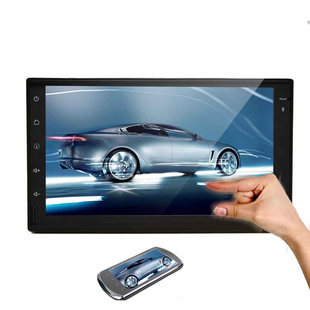 EinCar Android 5.1.1 Lollipop 2 Din Car Stereo with Quad Core 7'' Capacitive Touch Screen GPS Navigation AM FM Radio Audio Receiver Support Mirrorlink/WiFi/Bluetooth/1080P video