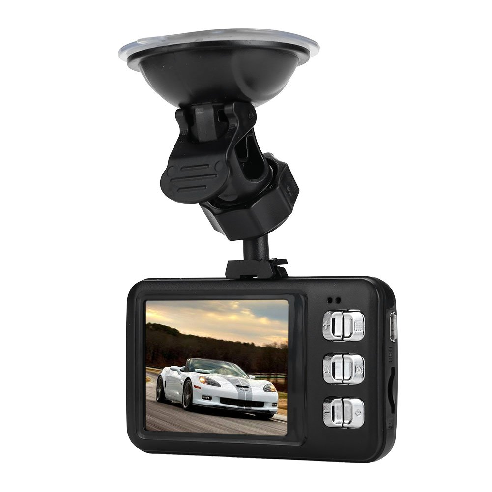 Auntwhale DVR Driving Recorder Smart 2.4 Inches Wide Angle Auto On/Off Motion Detection Wide
