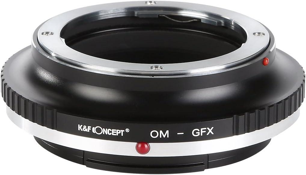 K/&F Concept Adapter for Pentax K Mount Lens to Fuji GFX Medium Format Camera