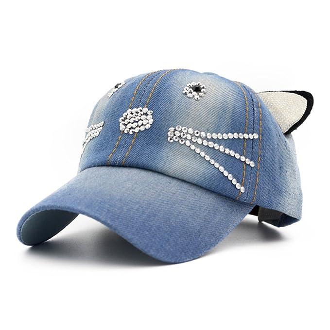 grande collezione nuovo design economico in vendita Cappellini Con Visiera Piatta Bambini Orecchie Di Gatto Primavera Estate  Cappello Cappellini baseball