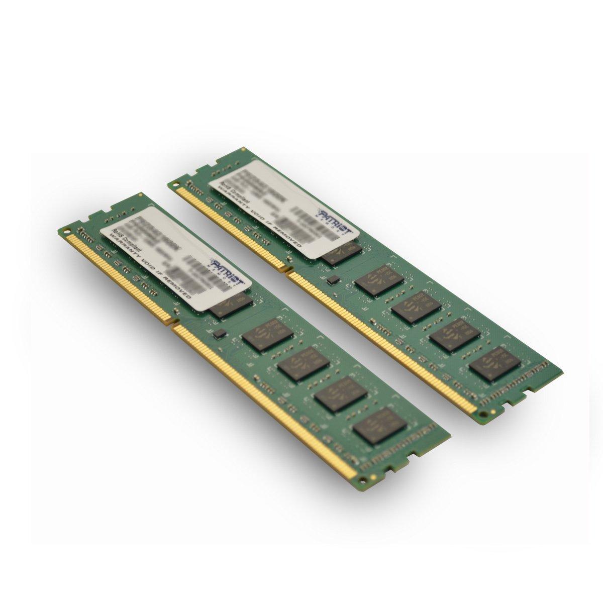 Patriot Signature DDR3 8 GB (2 x 4 GB) CL11 PC3-12800 (1600MHz) 240-Pin DDR3 Desktop Memory Kit PSD38G1600K