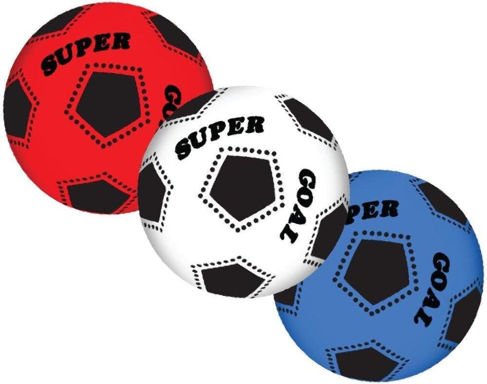 Vari Balón de fútbol Super Goal Balones PVC Colores Surtidos PS ...