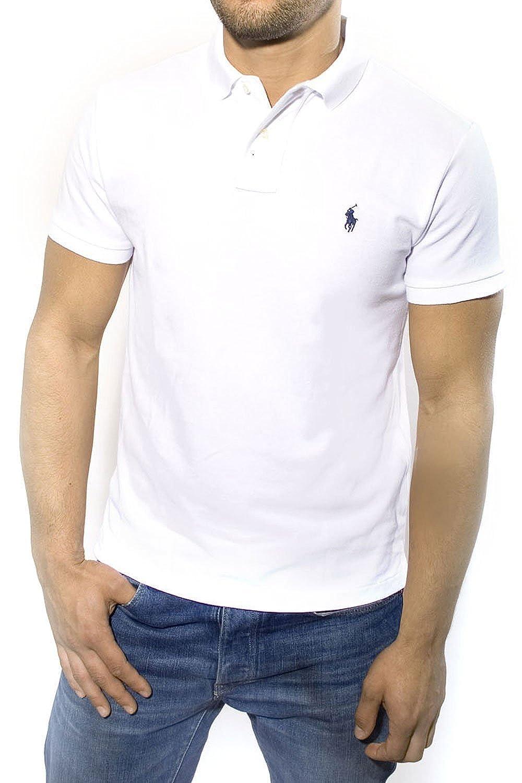 Ralph Lauren - Polo - para Hombre Blanco Large: Amazon.es: Ropa y ...