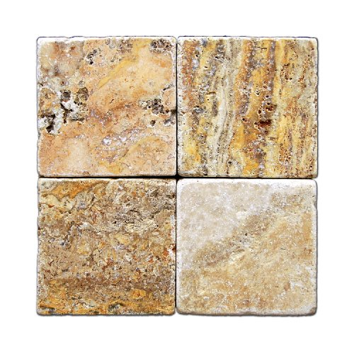 Oracle Scabos Travertine 6 X 6 Tile, Tumbled - Box of 5 s...