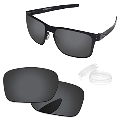 bc3416faaf941 PapaViva Lenses Replacement   Nose Pad for Oakley Holbrook Metal Black Grey