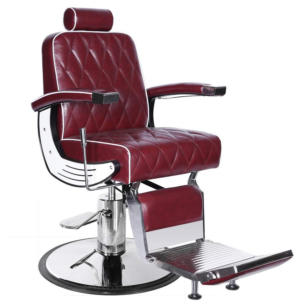 G6 Professional Hydraulic Reclining Barber Equipment Chair BC-88BU