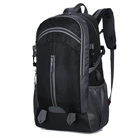 e7fc1a5c20 Nylon Shoulder Bag USB Backpack Waterproof Wear-Resistant Breathable  Off-The-Shelf Shock