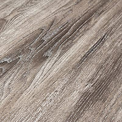 Timeless Designs Wirebrushed Grey 12mm Laminate Flooring with 2mm Attached Foam Backing CS13012 SAMPLE