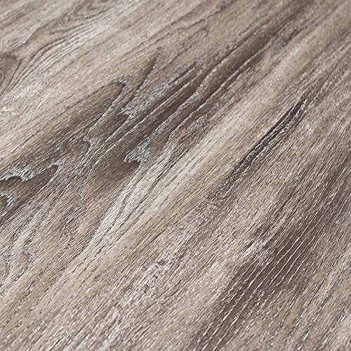 Timeless Designs Wirebrushed Grey 12mm Laminate...