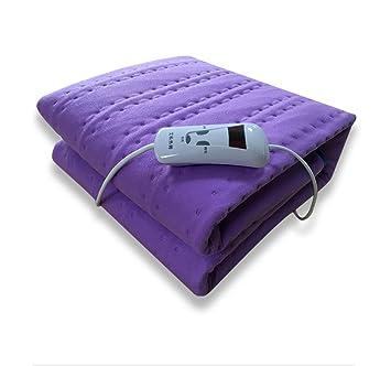 HHORD Manta eléctrica solo interruptor de control termostato dormitorio de estudiantes cama de seguridad sin radiación
