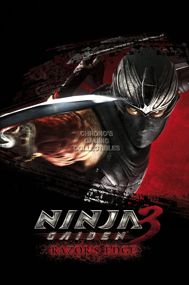 Amazon.com: PremiumPrintsG - Ninja Gaiden 3 Razors Edge PS3 ...