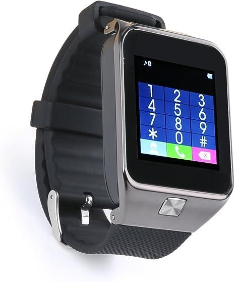 Flylinktech ® Reloj inteligente M9 Reloj conectado con Bluetooth ...