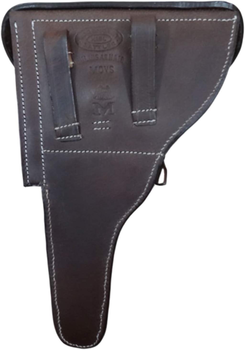 WWII Luger P08 6Barril alem/án Pistola w//Take Down Herramienta marr/ón Oscuro Reproducci/ón