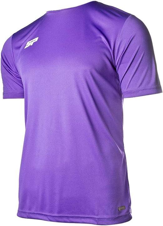 SP Fútbol Valor, Camiseta, Violeta: Amazon.es: Deportes y aire libre