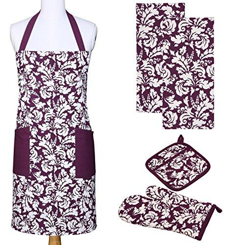 baking apron purple - 7
