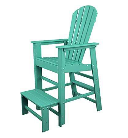 POLYWOOD SBL30AR South Beach Lifeguard Chair, Aruba