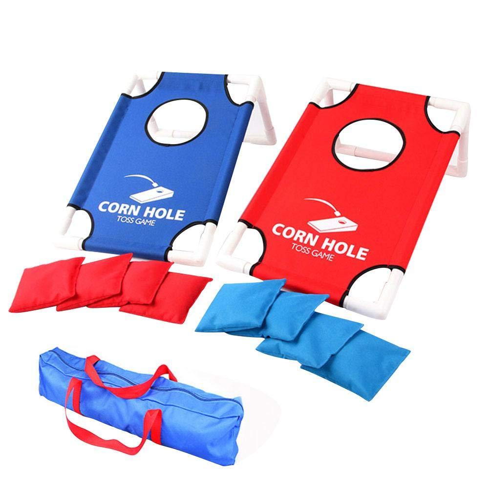 ditional Sandbag Throwing A Target Toy Portable Sandbag Game Set, Short Party Cornhole Board Sandbag Sport Game Throwing Target Corn Hole Tray Toy Durable