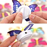 10Pcs LED Colorful Butterfly Night Light, OWIKAR 3D Flashing Colorful Butterfly Decorative Light Stick on Wall Light Night Light For Xmas Festive Garden Home Party - Random Color