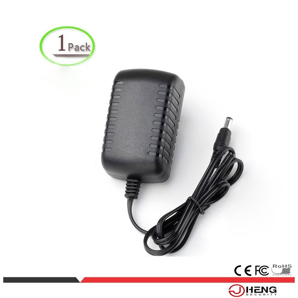 JC Europa Conector Adaptador de pared DC 12  V 2  A Power Charger para CCTV de Cá mara y cá mara IP Shenzhen Jing Cheng Digital Surveillance Co. Ltd DR120200A