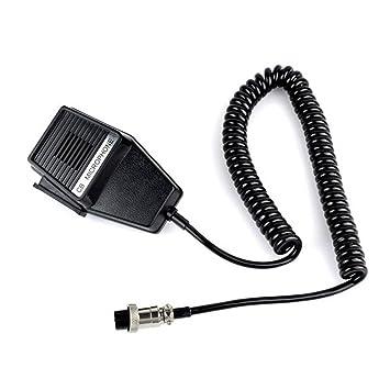 workman cm4 cb radio speaker mic microphone 4 pin for amazon co uk rh amazon co uk
