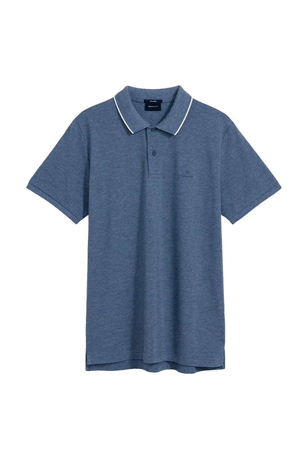 Gant Hombres Pique Tech Prep Rugger Polo Polo Azul XL: Amazon.es ...
