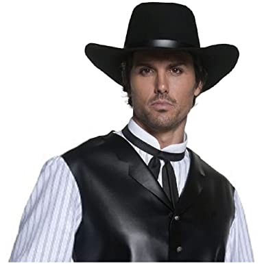 Authentic Western Gunslinger Hat Costume Accessory Adult Halloween  sc 1 st  Amazon.com & Amazon.com: Authentic Western Gunslinger Hat Costume Accessory Adult ...