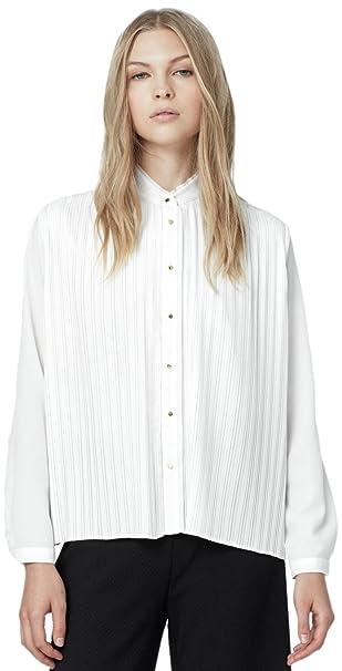 MANGO Camisas - para Mujer Crema CHIARISSIMO Large