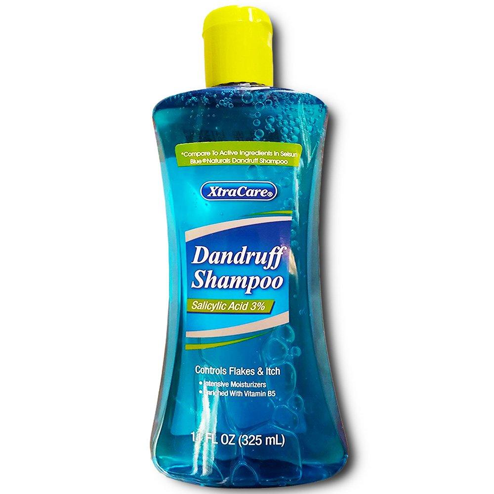 xtracare 3 salicylic acid dandruff shampoo compare to active