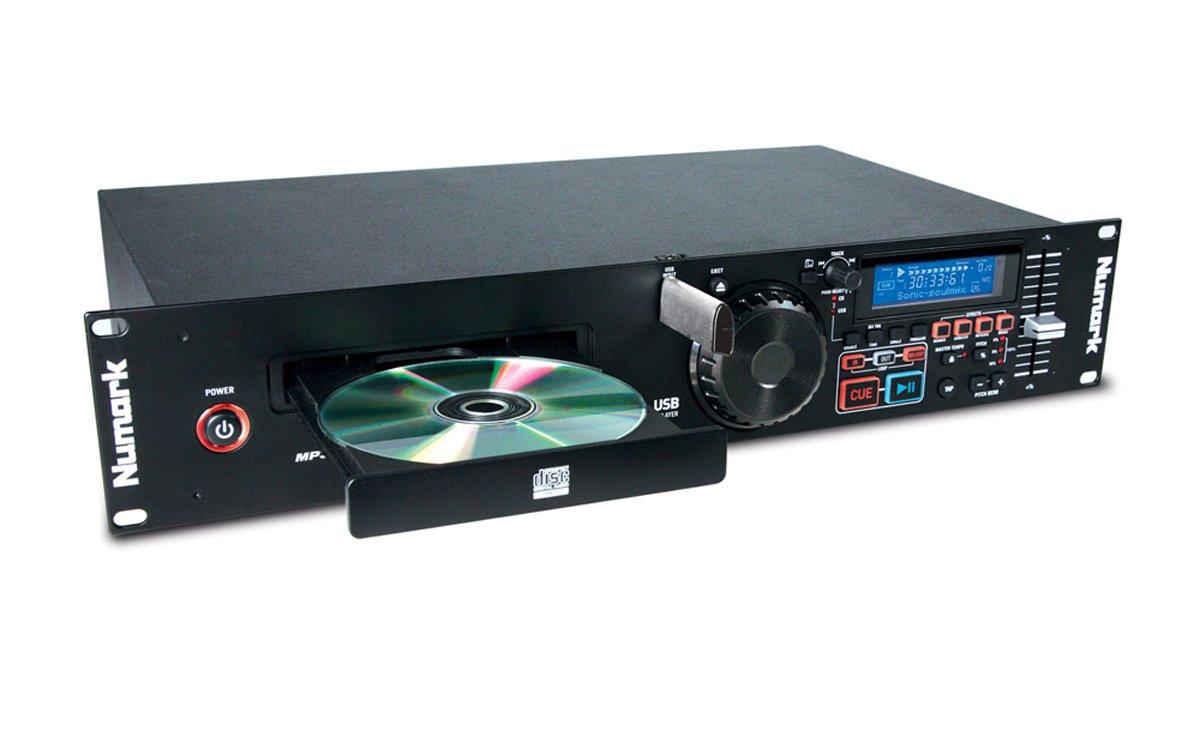 Numark MP103USB   Professional USB and MP3 CD player (Single Tray/RCA & Balanced XLR Outputs)