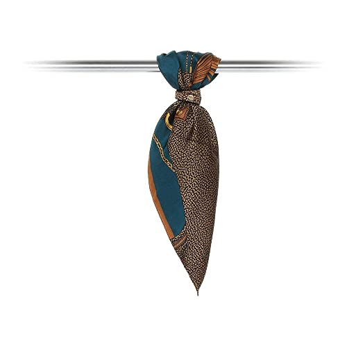Borbonese – Bufanda – para mujer Marrón marrón Talla única