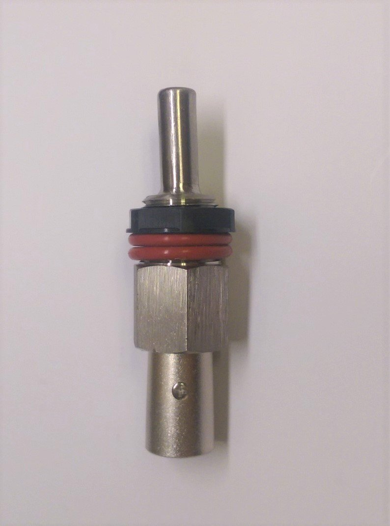 Complete Heavy Duty 2.5'' PT100 Thermowell Plug-In Assembly