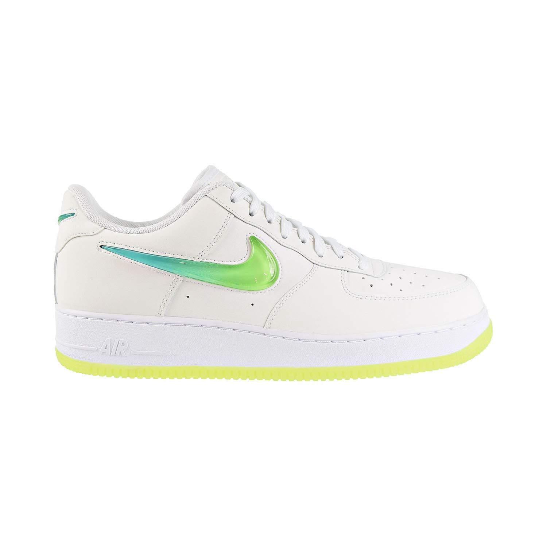 New Nike Air Force 1 '07 Premium 2 White Hyper Jade Volt In