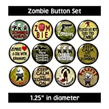 Zombie Buttons Pins