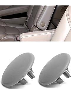 2Pcs Armrest Rear Seat Cover Cap For 2007-18 Chevy Tahoe Yukon Cadillac Suburban
