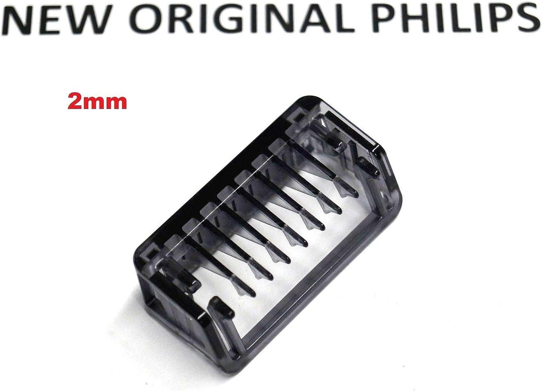 Peine Comb Cortabordes 2 mm Clipper para afeitadora Philips ...
