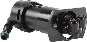 AUTOPA 8E0955102G Right Headlight Washer Nozzle for Audi A4 05-09 A4 Quattro 05-08 S4 07-09