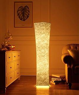 lvyuan Lámpara de Pie Moderna Bombilla LED incluida para la Decoración de la Sala de Estar…