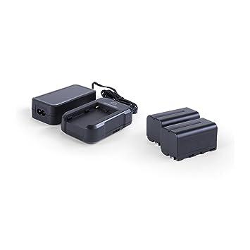 Amazon.com: Atomos atompwrkt1   Power Kit con 2 baterías NP ...