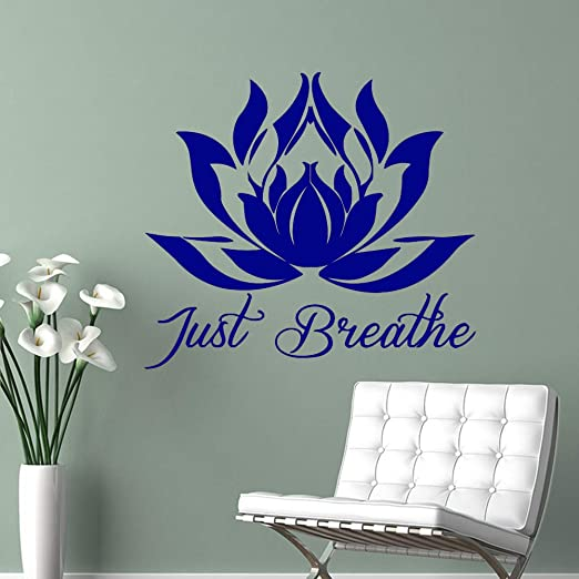 jiuyaomai Mandala 3D Lotus Wall Art Decal Sticker de Pared Mural ...