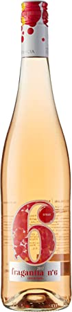 Fragantia 6 Vino Fragancia 6 Rosé - 6 Paquetes de 750 ml - Total: 4500 ml