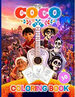 Coco little golden book disneypixar coco rh disney the disney coco coloring book for kids and adults disneypixar activity book stopboris Image collections