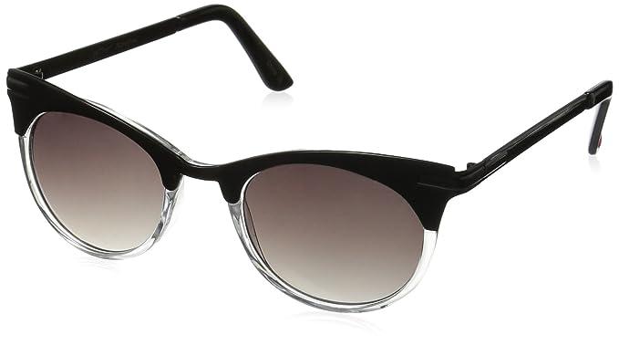 10025f9275d1b Amazon.com  Betsey Johnson Women s Vanessa Square Cateye Sunglasses ...