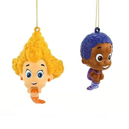 Amazon.com: Bubble Guppies Kurt Adler Ornament Set Gift Boxed (Goby ...