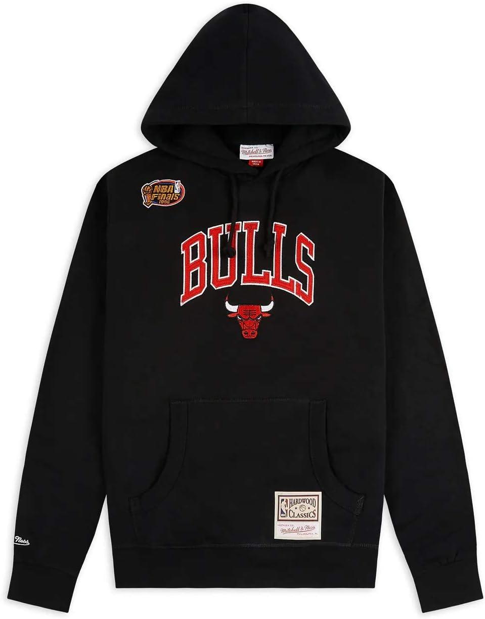 Mitchell /& Ness Sweat /à Capuche Chicago Bulls Arch