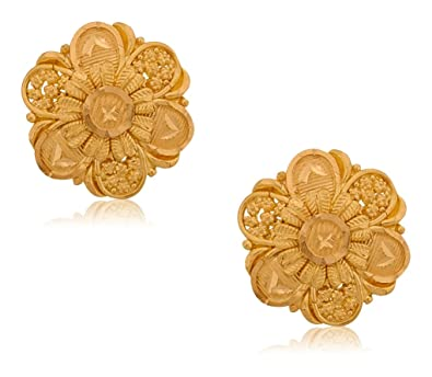 gold morganite studded backs earrings round solitaire stud push rose