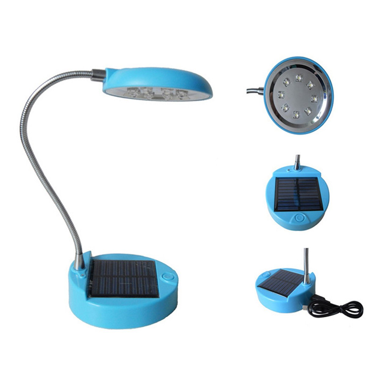 Solar table lamp: WONFAST 8LED Flexible Solar Lights